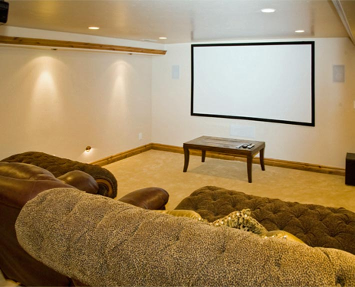 Highland utah basement finish basement pro for Utah basement