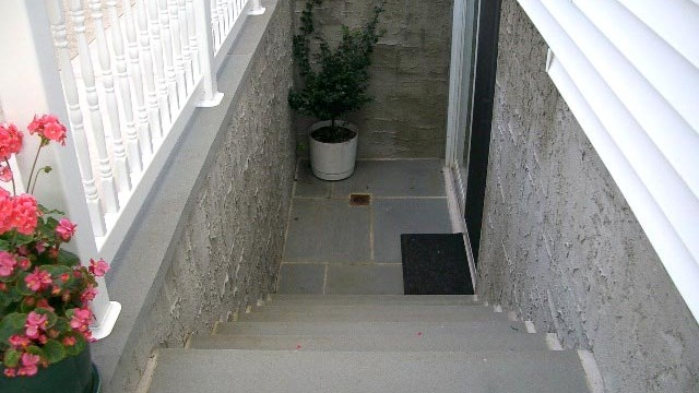 an outside entrance basement pro utah